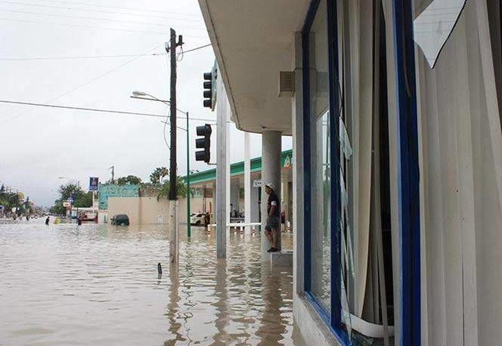Las intensas precipitaciones registradas en Coahuila causan severas inundaciones y dejan damnificadas a cientos de personas. (Excélsior)