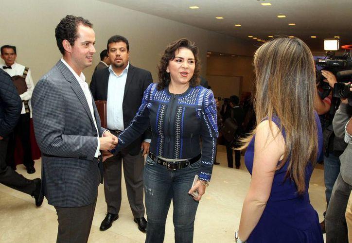Ivonne Ortega asegura que el PRI ha demostrado que sin guerra sucia se pueden ganar unas elecciones. (Notimex)