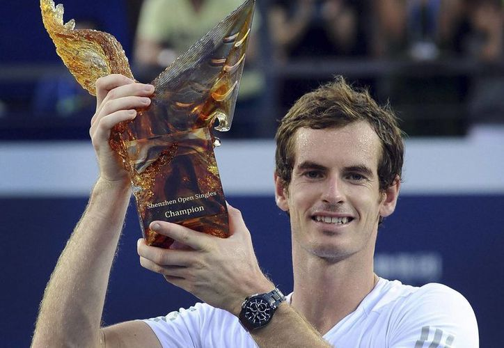 Murray sumó 250 puntos a su lucha por colocarse entre las cinco mejores raquetas del mundo. (AP)