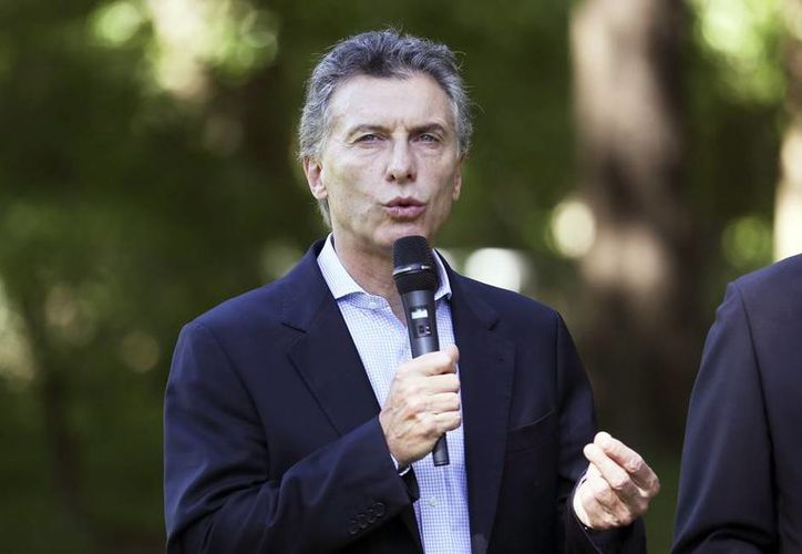 Se anunció que Cristina Fernández no asistirá a la toma de posesión de su sucesor, el próximo jueves. Macri jurará su cargo en el Congreso ante su vicepresidenta, Gabriela Michetti. (EFE)