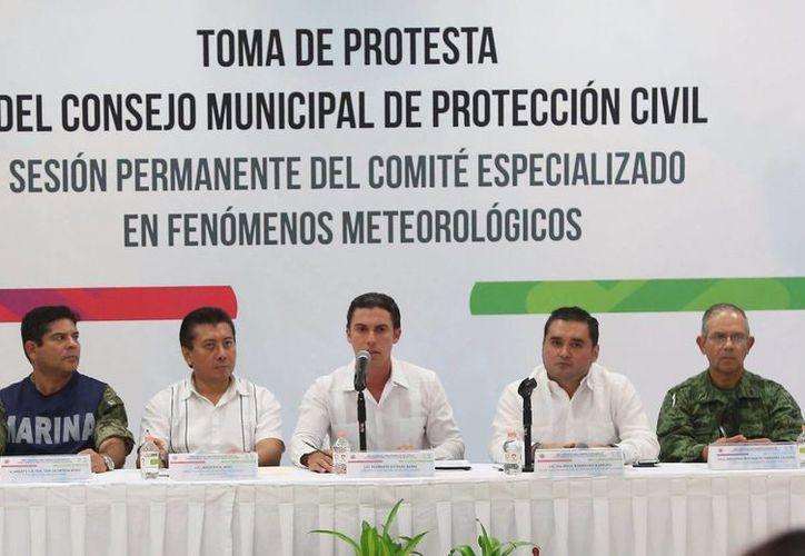 """Remberto Estrada afirmó: """"Benito Juárez es propenso a ser impactado por fenómenos hidrometeorológicos"""".(Redacción/SIPSE)"""