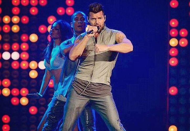 El cantante Ricky Martín será uno de los participantes en la fiesta de la Fundación Teletón este fin de semana. (Instagram ricky_martin)