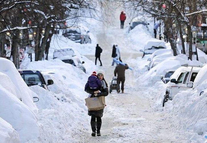 Es una de las tormentas invernales más severas que se ha vivido en Estados Unidos. (Contexto/Internet)