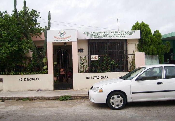 Imagen de las instalaciones de la asociación Dona Esperanza, donde se impartirá una plática a quienes quieran ser voluntarios. (Facebook Dona Esperanza A C)