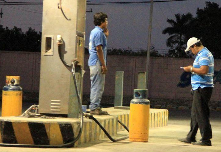 Protección Civil vigila la seguridad en las instalaciones de las gaseras. (Milenio Novedades)