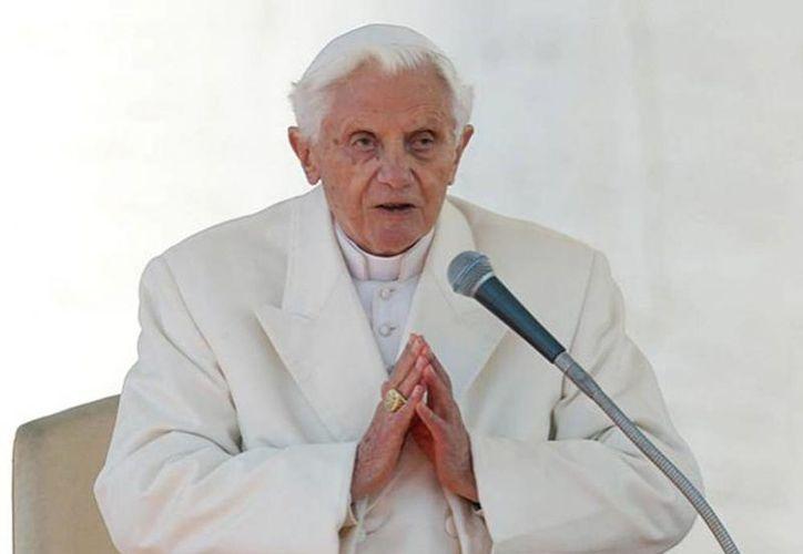 El problema de visión del Papa emérito tuvo su origen en 1991 cuando sufrió una hemorragia cerebral. (Agencias/Archivo)