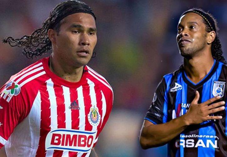 'Gullit' Peña podría emular a Ronaldinho con Gallos Blancos de Querétaro. (foto tomada de am.com)