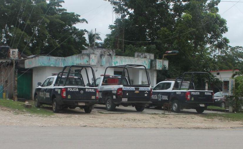 Consideran que es necesario que se refuerce la seguridad de las comunidades rurales con más policías en las partidas. (Carlos Castillo/SIPSE)