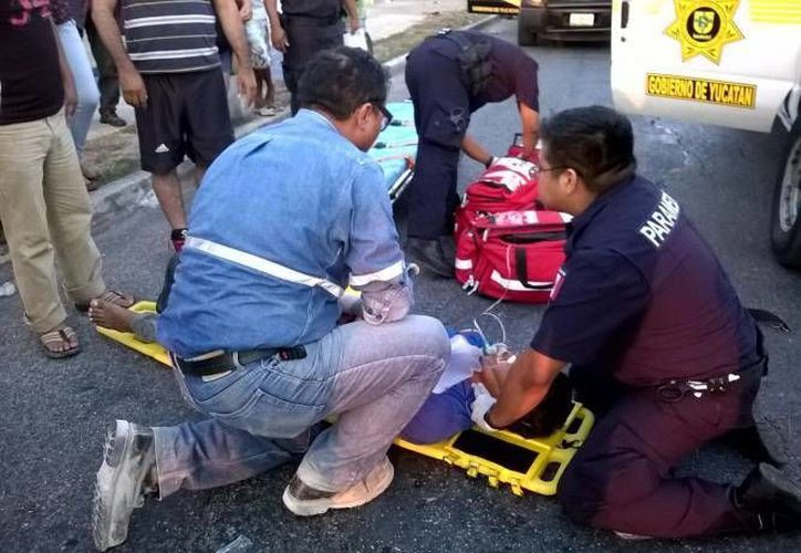 Juan Carlos Fernández Vargas terminó hospitalizado tras ser arrollado en Ciudad Caucel. (Foto de contexto de SIPSE)