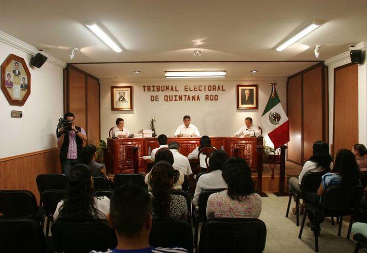 Se llevará a cabo la lección de los nuevos contralores internos del Tribunal Electoral de Quintana Roo. (Harold Alcocer/SIPSE)