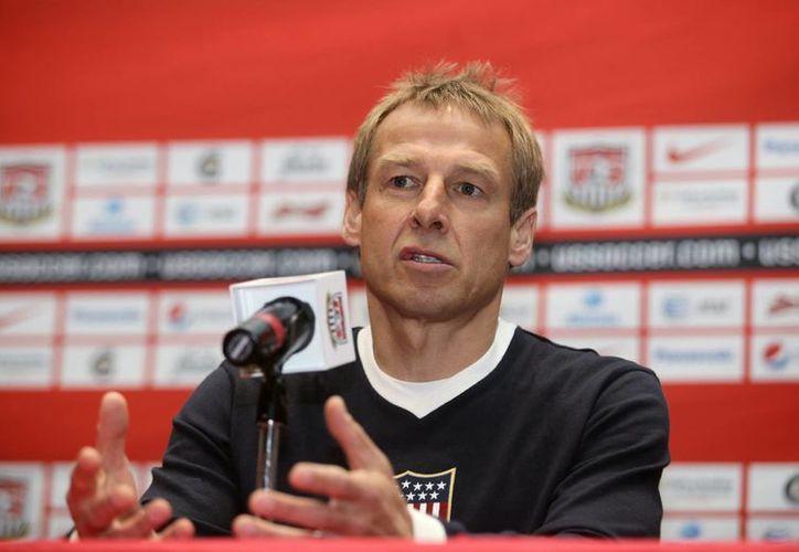 Klinsmann aseguró que actuó de esa manera por frustración contra el árbitro. (Foto: EFE)
