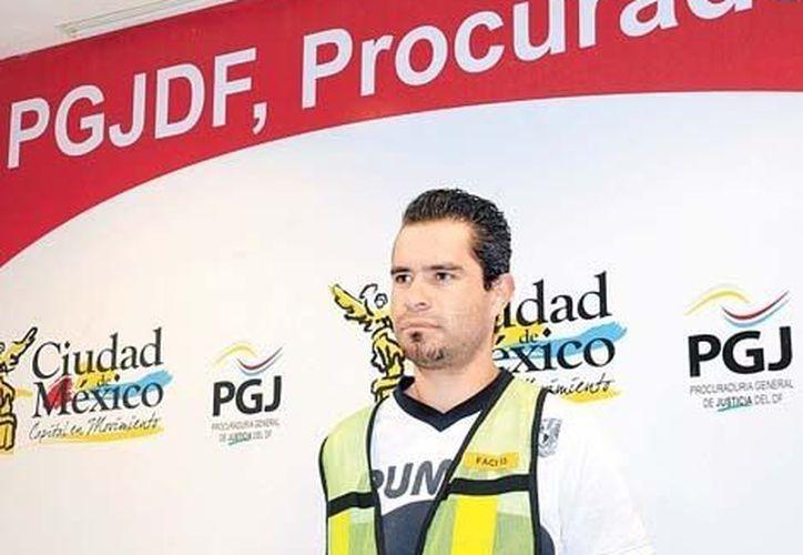 Fernando Zárate es acusado de matar a una persona en la delegación Álvaro Obregón. (Milenio)