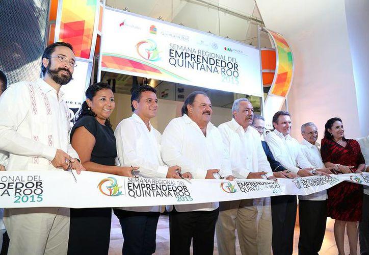 Inauguración de la Tercera Edición de la Semana Regional del Emprendedor. (Cortesía/SIPSE)