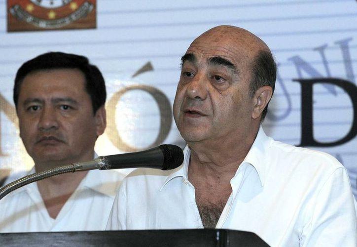 El homicidio de Salazar Ramonet se registró después de que se vio obligado a tomar una ruta alterna: Murillo. (Notimex)