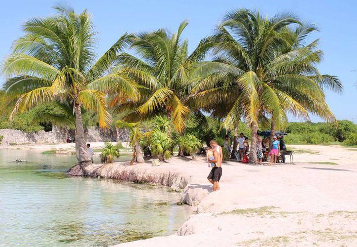 Los ciudadanos argumentan que Punta Esmeralda es patrimonio de los mexicanos por lo que piden que se defienda junto con los accesos a la Zofemat. (Juan Cano/SIPSE)