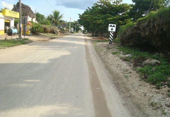 El alcalde de Noh Bec reconoció el apoyo otorgado por el gobierno del estado, principalmente en la construcción de calles de terracería. (Archivo/SIPSE)