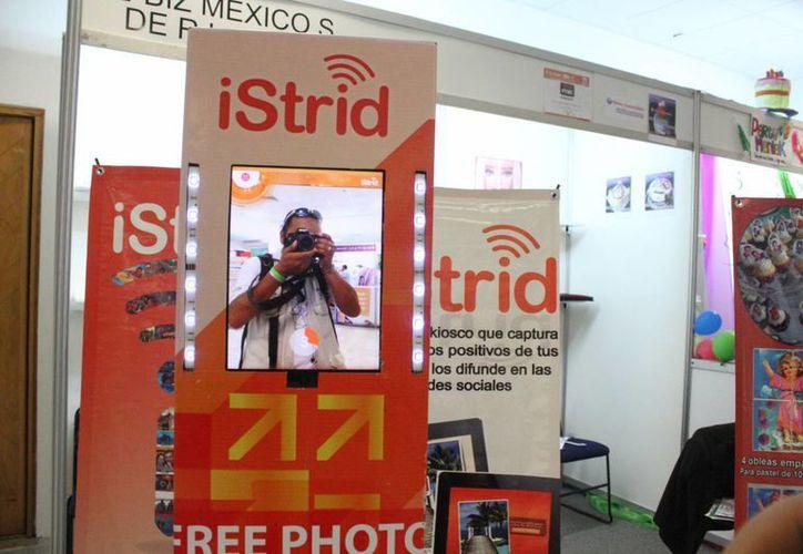 La compañía anuncia la aplicación Istrid Props. (Sergio Orozco/SIPSE)