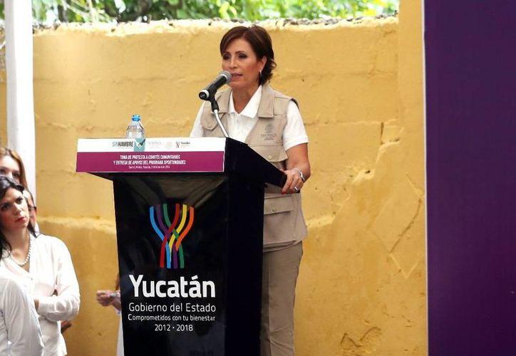 """""""Yucatán es un Estado que sabe trabajar con visión y estrategias concretas para alcanzar los objetivos planteados"""": Rosario Robles, titular de Sedesol. (SIPSE)"""