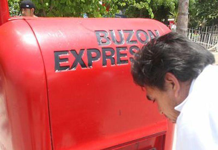 En el municipio de Benito Juárez existen 35 buzones. (Sergio Orozco/SIPSE)