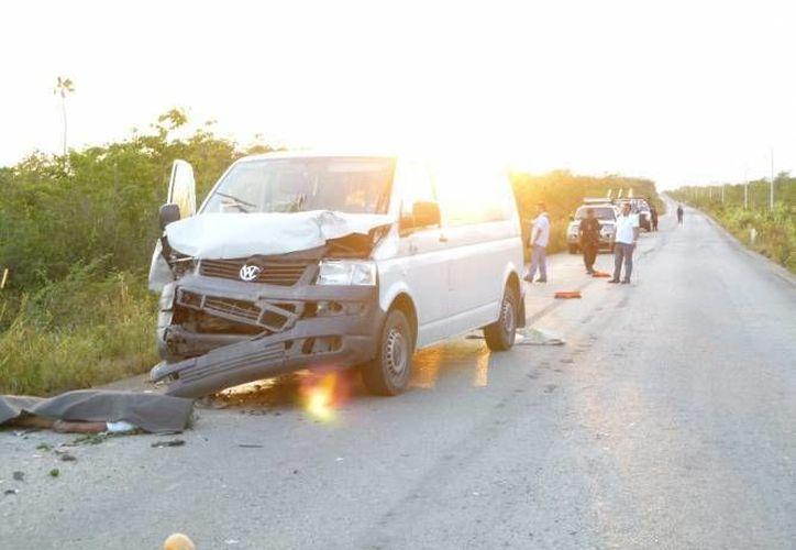 La carretera se ha convertido en un escenario constante de accidentes viales. (Archivo/SIPSE)