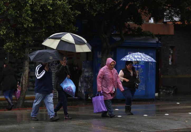 También en los estados de Puebla y Sinaloa se esperan tormentas fuertes en las horas próximas. (Notimex)