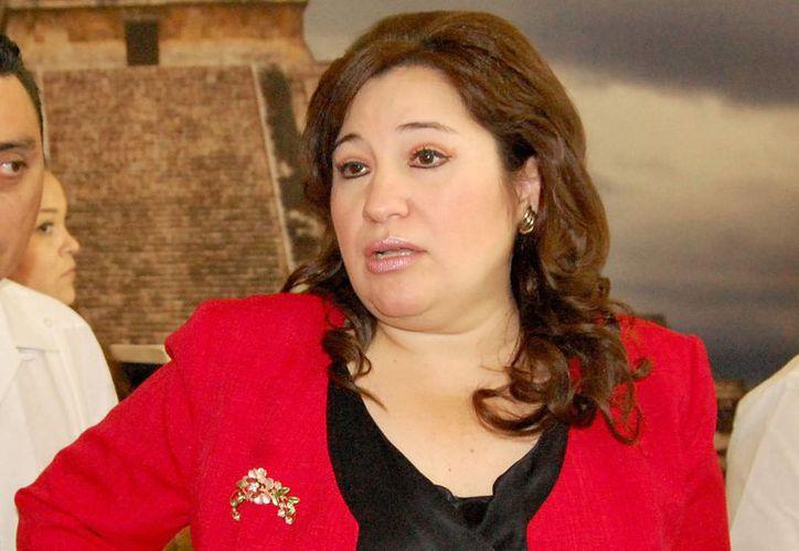 A diferencia del Ejecutivo de Yucatán, la fiscal general del Estado, Celia María Rivas Rodríguez, consideró que el índice de robos tiende a disminuir en Yucatán. (Archivo SIPSE)