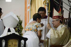 Inicia su ministerio en Yucatán Mons. Gustavo Rodríguez Vega
