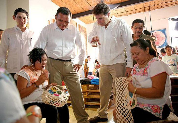 Sergio Grosjean indicó al Gobernador que el sector empresarial se encuentra comprometido con el impulso económico del estado y sus regiones. (Sergio Grosjean/SIPSE),