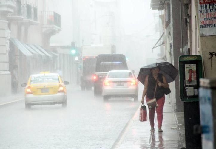 Una onda tropical y una vaguada ocasionarán las lluvias en la Península de Yucatán. (Foto: Contexto/SIPSE)