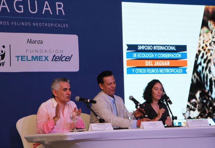 Investigadores participaron en el Simposio Internacional de Ecología y Conservación del Jaguar. (Paola Chiomante/SIPSE)