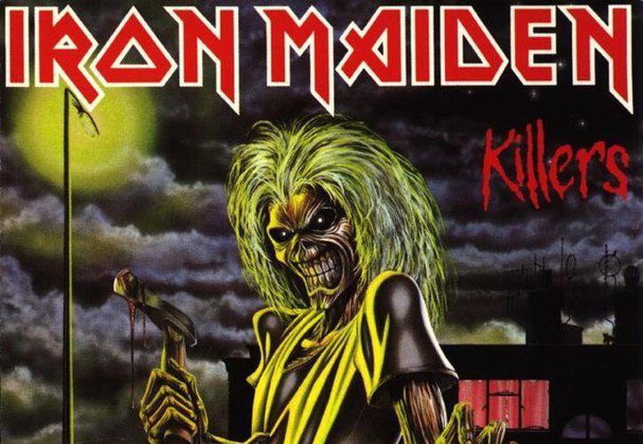 """Eddie, la """"mascota"""" de la banda de rock Iron Maiden, es un ente salido del infierno. (Agencias)"""