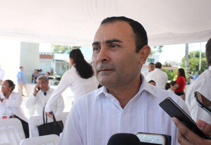 Juan José Fernández Carrillo rindió protesta en el marco de la LXXVII Asamblea General Ordinaria de la AMHM. (Redacción/SIPSE)