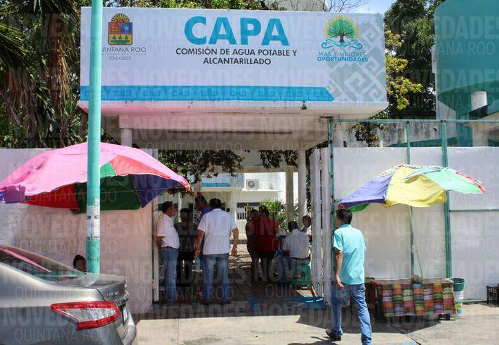 La paraestatal informó a través de un comunicado sobre la suspensión del servicio de agua potable. (Joel Zamora/SIPSE)