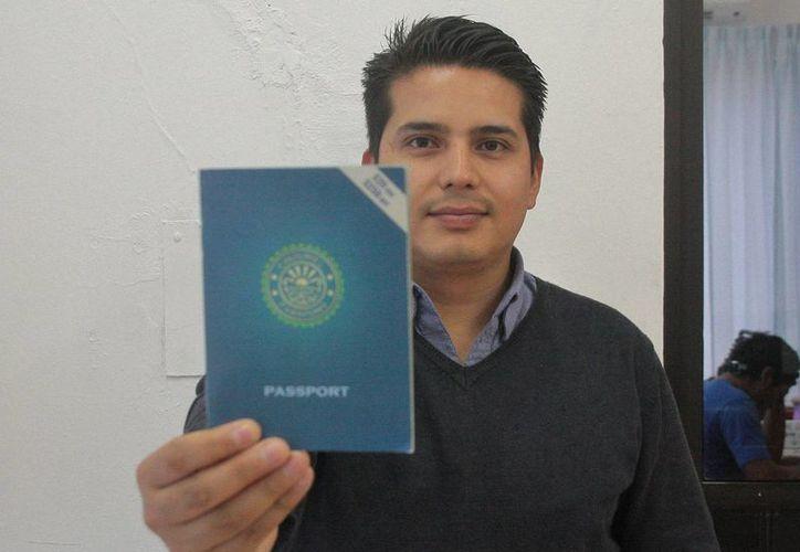 Luis Fernando Tena Amaya, impulsor del proyecto. (Julián Miranda/SIPSE)
