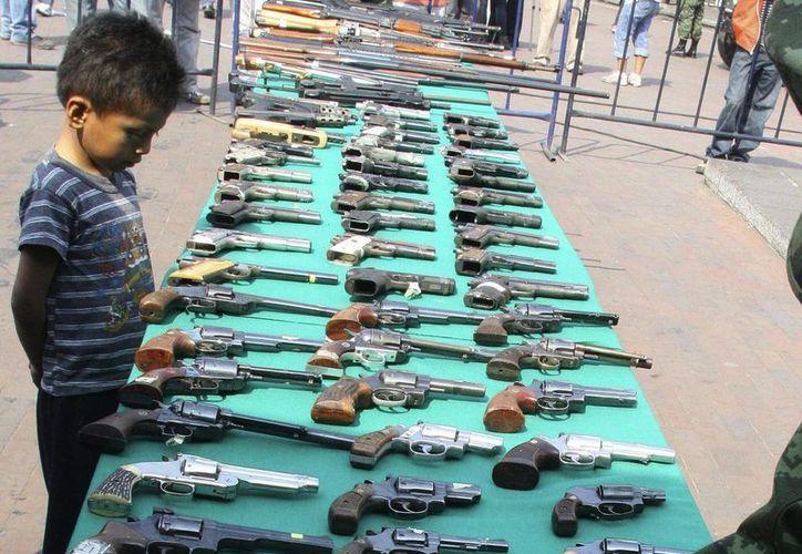 Costa Rica es el país de América Latina con más certificaciones de destrucción de armas. (EFE)
