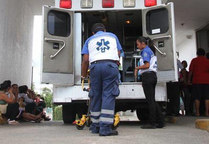 """El Hospital General de Cancún """"Jesús Kumate Rodríguez"""" gasta un millón y medio de pesos al mes por lesiones menores. (Consuelo Javier/SIPSE)"""