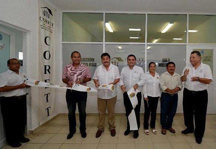 Se llevó a cabo la inauguración de las oficinas de la Comisión para la Regularización de la Tenencia de la Tierra (CORETT). (Redacción/SIPSE)