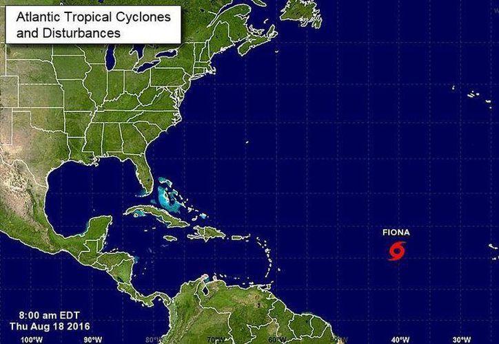 Se espera cielo parcialmente nublado, con 20% de probabilidad de lluvias en Cancún. (Intellicast)
