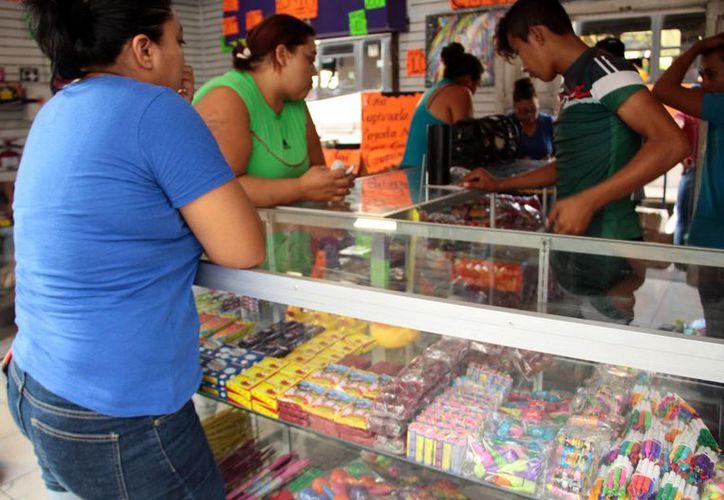 Las primeras fechas de la venta de pirotecnia en Mérida serán el 22, 23 y 24 de diciembre. (Milenio Novedades)