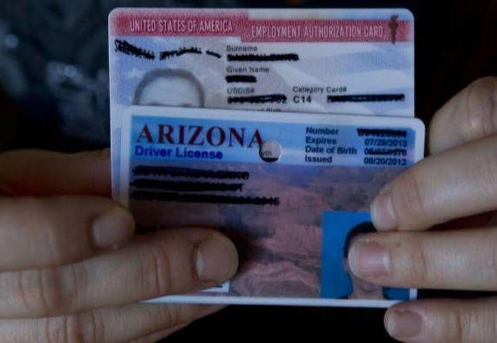 El estado de Arizona intentó a toda costa impedir la expedición de licencias de conducir a los 'dreamers' alegando que éstos permanecían en EU de manera ilegal. (Archivo/SIPSE)