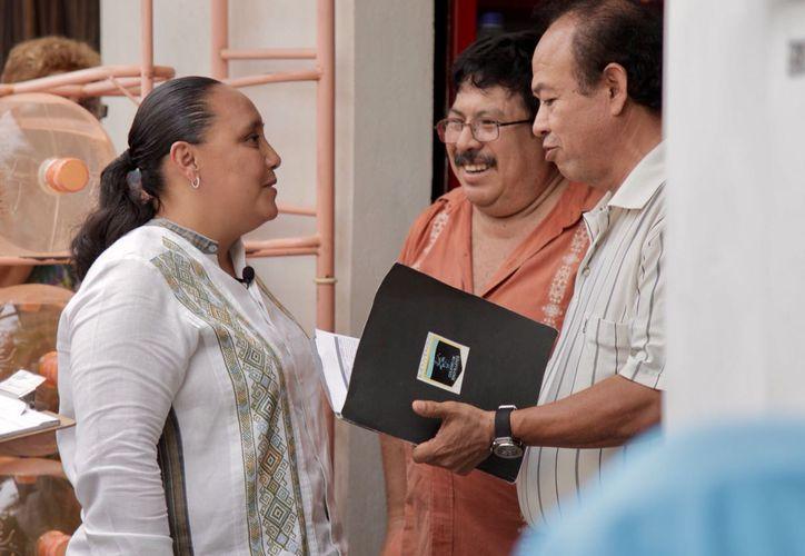 La candidata escuchó las necesidades ciudadanas de los vecinos. (Foto: Redacción)