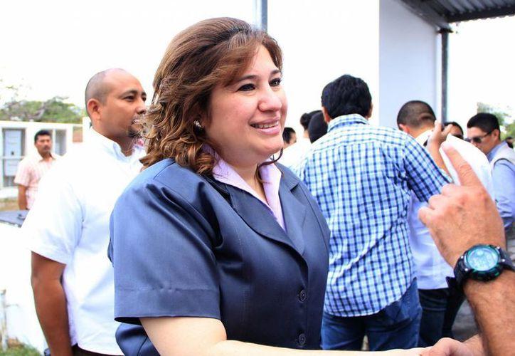 La Fiscal exhortó a madres a denunciar el abandono de sus hijos. (José Acosta/SIPSE)