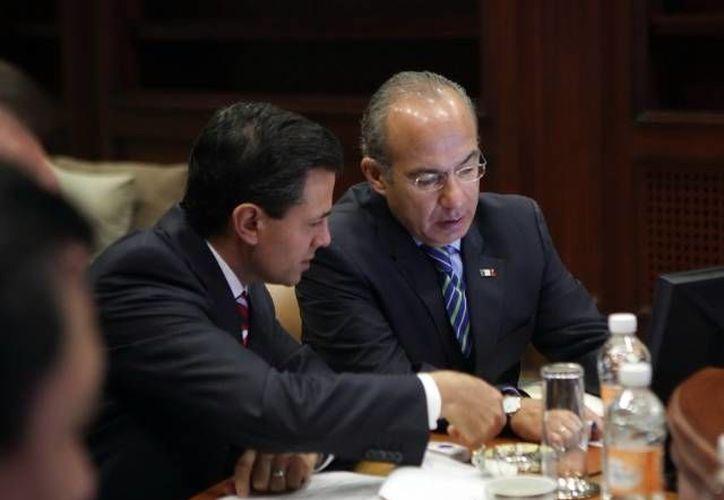 Las comunicaciones de Peña Nieto y Calderón fueron interceptadas en una operación ultrasecreta de la NSA. (Archivo/SIPSE)