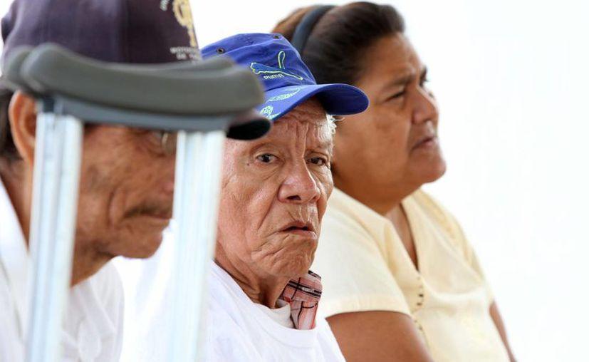 El estrés es también un problema de salud para los abuelos en Mérida. (SIPSE)