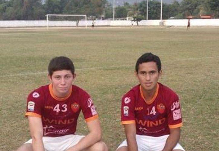 Axel Vega y Mario Martín ementos del equipo vallisoletano Inmobiliaria FC,. (Milenio Novedades)