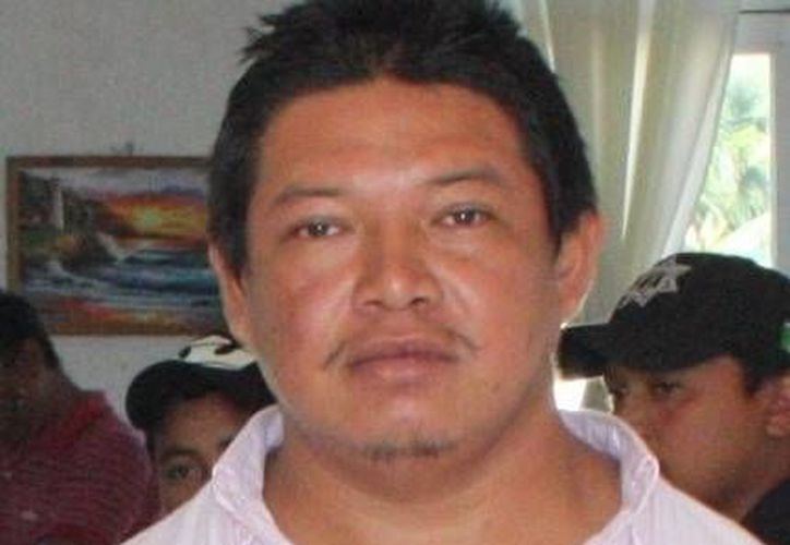 El comisario de Chelem, Guillermo Ezequiel Vera Iuit (a) 'Camote'. (SIPSE)