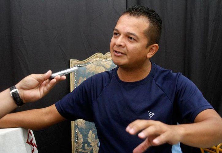 Luis Velázquez, director de Teatro de Sedeculta, aseguró que la cartelera del recién concluido festival 'Wilberto Cantón' estuvo a la altura. (Milenio Novedades)