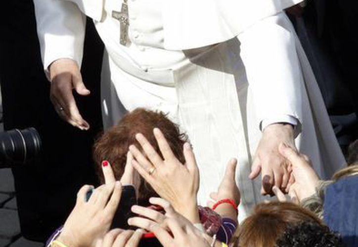 Francisco destacó que hay muchas personas que se han alejado de la Iglesia. (Agencias)