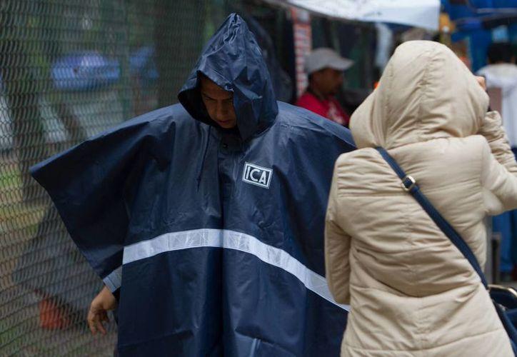 El SMN indicó que hay potencial de lluvias muy fuertes en Chipas y Veracruz. (Notimex)