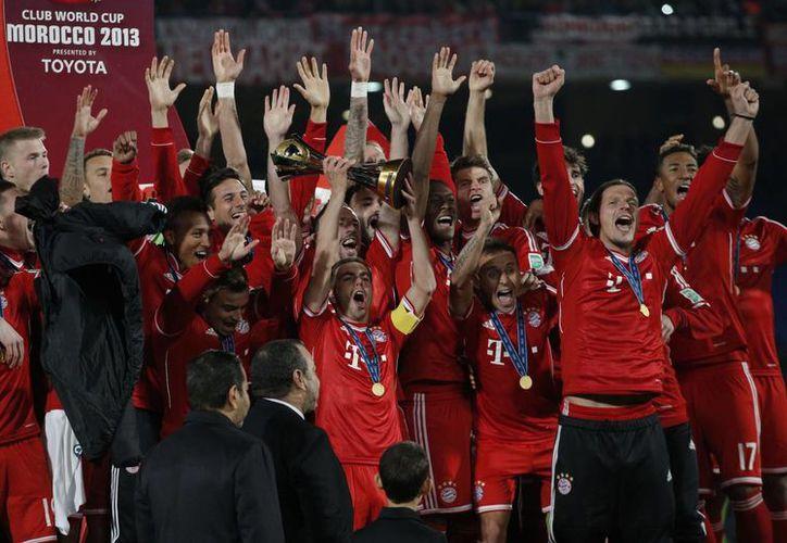 Bayern Munich sigue dominando el campeonato mundial de clubes. (Agencias)